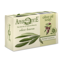 Aphrodite Olive oil soap with Olive Leaves (APH-Z-73)
