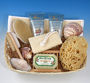 Bath & Shower Gift Basket