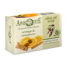 Aphrodite Olive Oil Soap with Orange and Cinnamon (APH-Z-79)