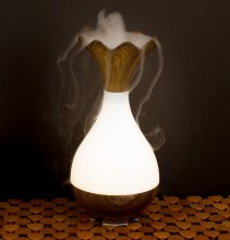 Dark Wood Colored Essential Oil Diffuser