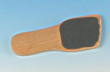 Wood Foot Shaped File