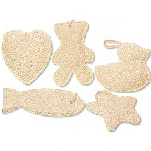 Fun Shaped Loofah Sponges
