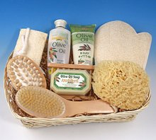Women's Bath & Shower Gift Basket