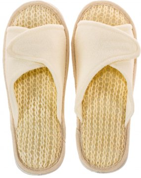 Sisal & Terrycloth Bath & Spa Slippers