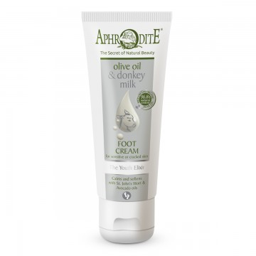 Aphrodite Donkey Milk Youth Elixir Foot Cream