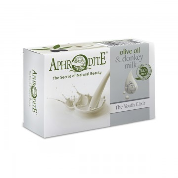 Aphrodite Donkey Milk Olive oil soap with Donkey Milk