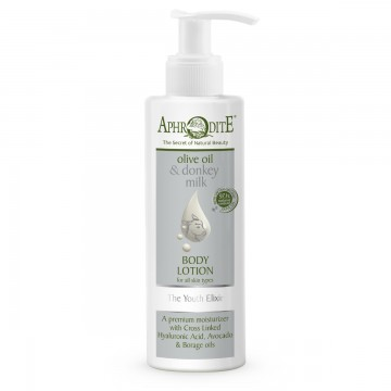 Aphrodite Donkey Milk Youth Elixir Body Lotion