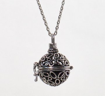 Lava Stone Essential Oil Diffusing Necklace
