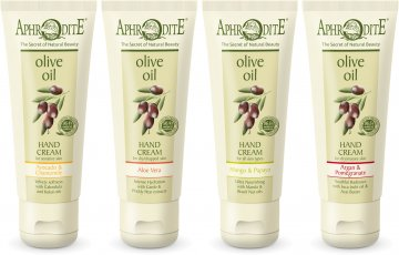 aphrodite olive oil foot cream