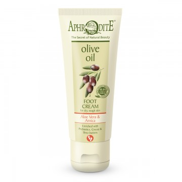 Aphrodite Foot Cream with Aloe Vera