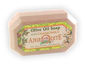 Large Bath size Olive Oil Soap - Soothing Chamomile - 7 oz
