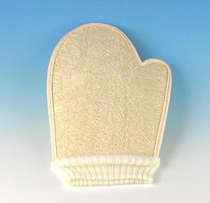 Premium Loofah Mitt for Bath & Shower