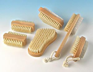 Nail Brushes - some with pumice