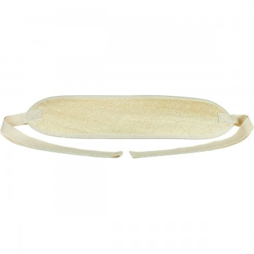 Large Oblong Loofah Back Scrubber and Shower Strap