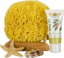 SeaSationals™ Natural Yellow Sea Sponge Bath Kits